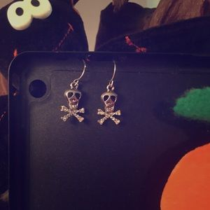 Halloween Skull 💀 n' Bones Earrings